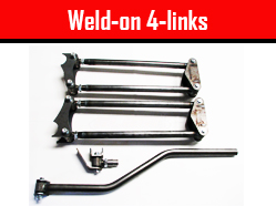 Weld-on 4-links