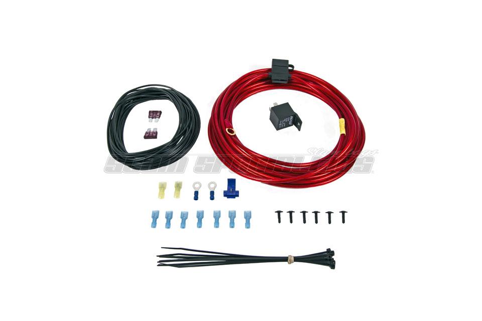 Viair Wiring Diagram : Viair single compressor wiring kit slam specialties